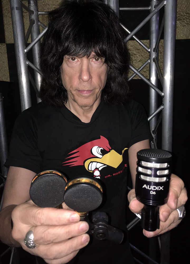 Marky Ramone Audix