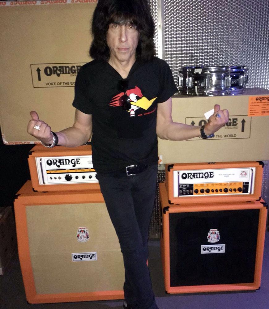 Marky Ramone Orange