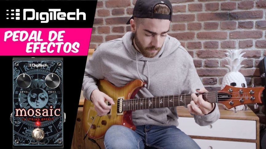 Pedal efecto guitarra Digitech Mosaic