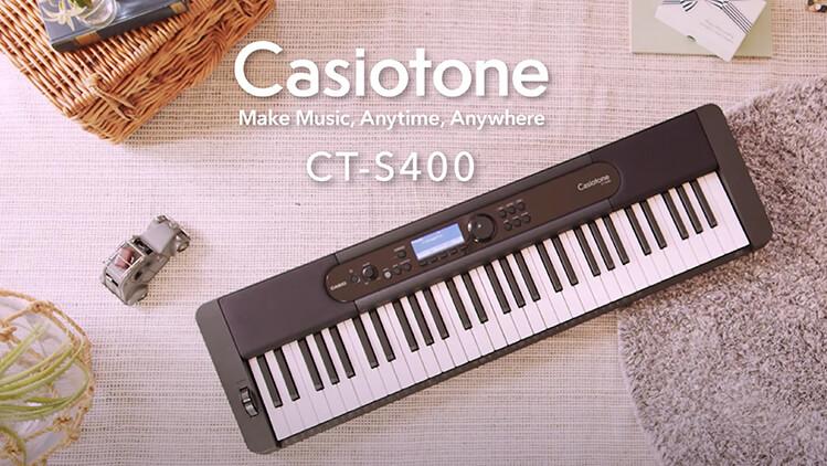 Teclado Castio CT-S400